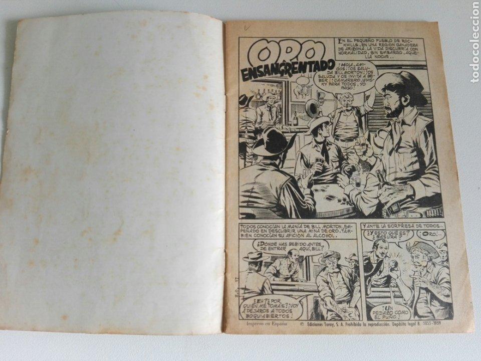 Tebeos: HAZAÑAS DEL OESTE Nº 17 (ED. TORAY 1959) 48 PÁGINAS - Foto 2 - 177728428