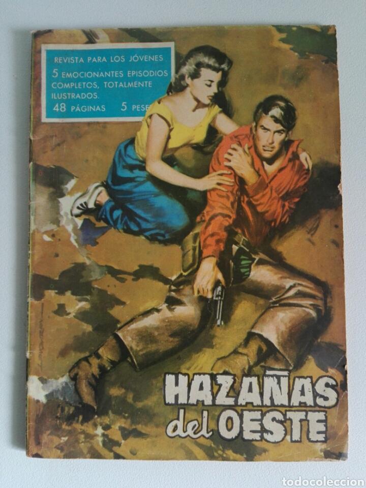 HAZAÑAS DEL OESTE Nº 17 (ED. TORAY 1959) 48 PÁGINAS (Tebeos y Comics - Toray - Hazañas del Oeste)