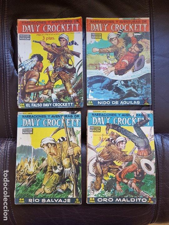 DAVY CROCKETT – COLECCION HURACAN (Tebeos y Comics - Toray - Otros)