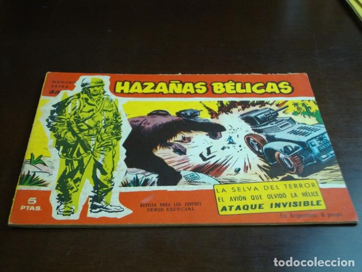 HAZAÑAS BELICAS ROJA Nº 55 (Tebeos y Comics - Toray - Hazañas Bélicas)