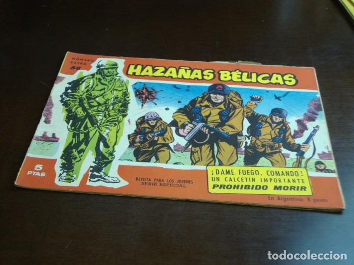 HAZAÑAS BELICAS ROJA Nº 58 (Tebeos y Comics - Toray - Hazañas Bélicas)