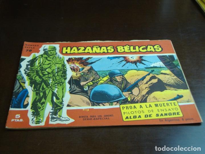 HAZAÑAS BELICAS ROJA Nº 70 (Tebeos y Comics - Toray - Hazañas Bélicas)