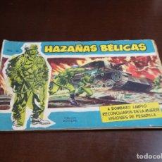 Tebeos: HAZAÑAS BELICAS AZUL Nº 16 LOMO UN POCO ABIERTO. Lote 178060007