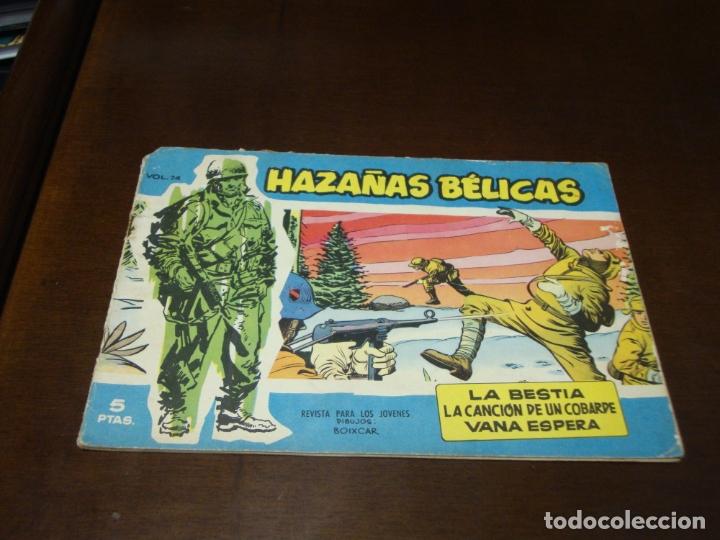 HAZAÑAS BELICAS AZUL Nº 74 (Tebeos y Comics - Toray - Hazañas Bélicas)