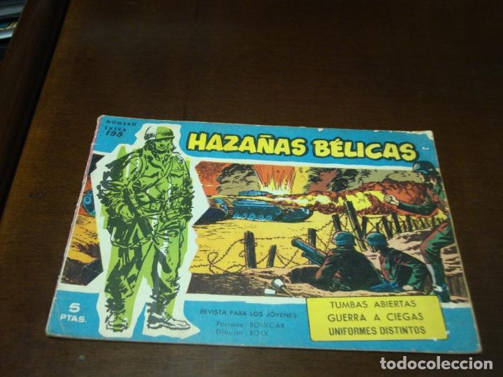 HAZAÑAS BELICAS AZUL Nº 195 (Tebeos y Comics - Toray - Hazañas Bélicas)