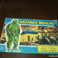 Tebeos: HAZAÑAS BELICAS AZUL Nº 195. Lote 178065318