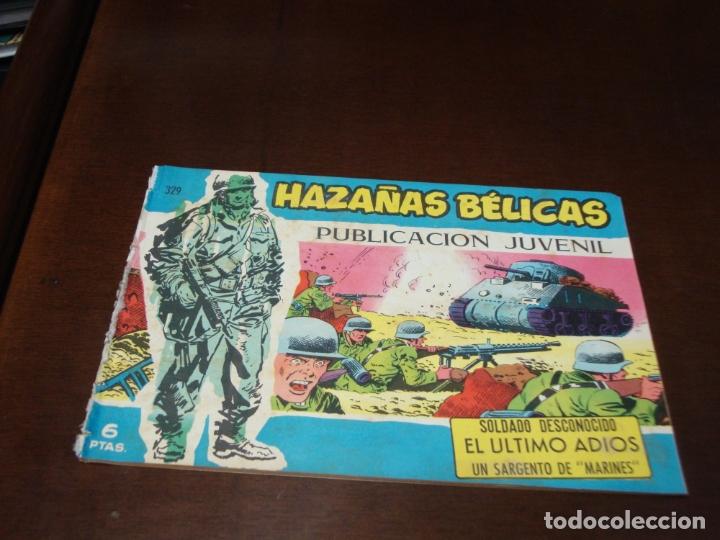 HAZAÑAS BELICAS AZUL Nº 329 (Tebeos y Comics - Toray - Hazañas Bélicas)