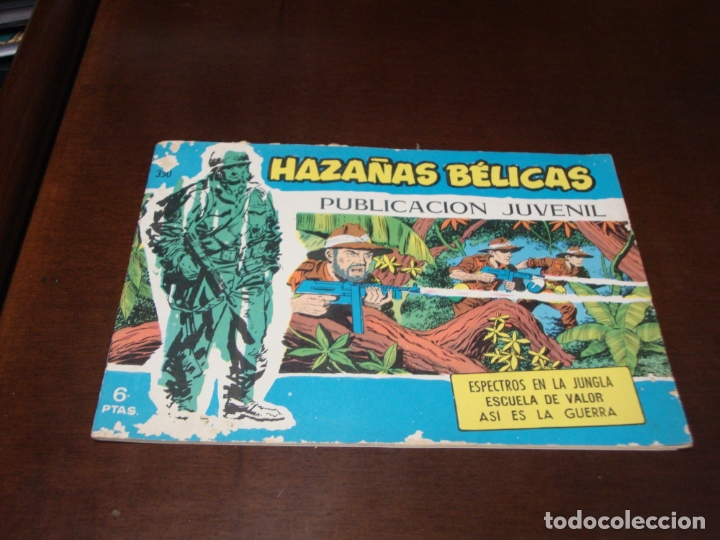 HAZAÑAS BELICAS AZUL Nº 350 (Tebeos y Comics - Toray - Hazañas Bélicas)