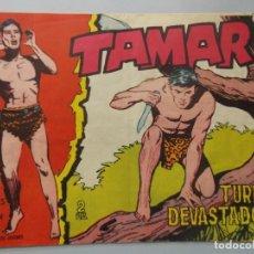 Tebeos: COMIC - TAMAR - Nº 146 , TURBA DEVASTADORA - EDICIONES TORAY , AÑO 1961 - ORIGINAL .. L392. Lote 178331377
