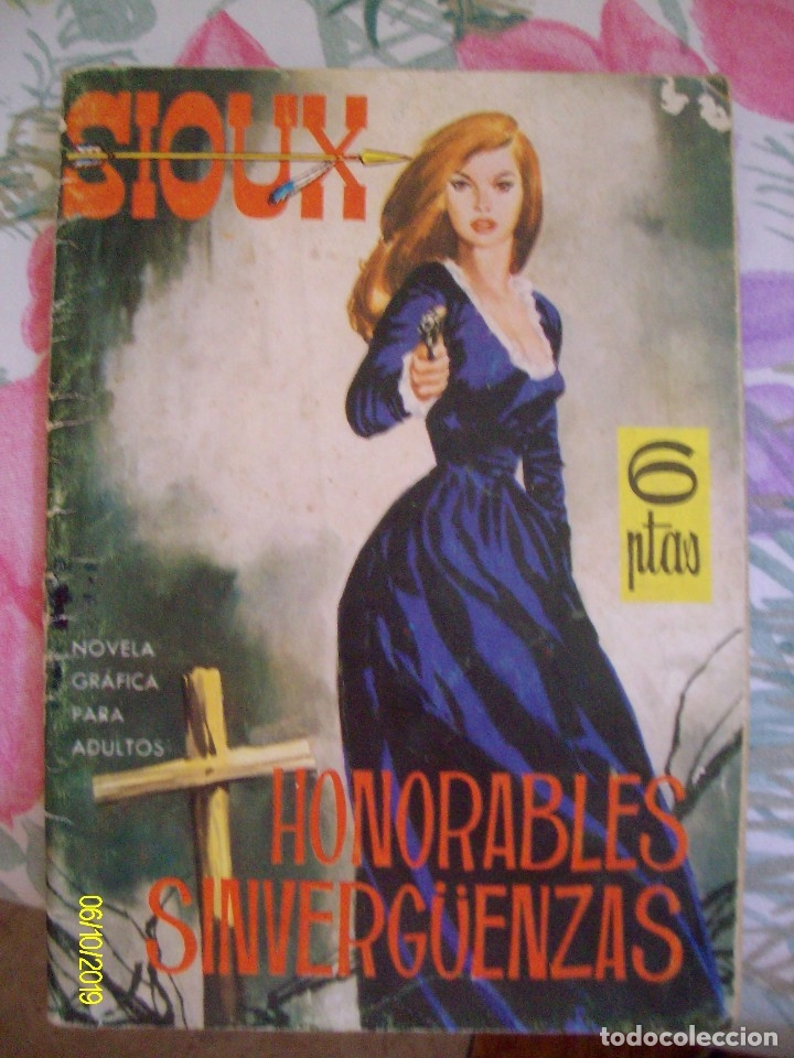 SIOUX Nº 3 HONORABLES SINVERGÜENZAS TORAY TRASERA ANGIE DICKINSON (Tebeos y Comics - Toray - Sioux)