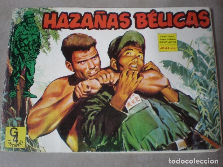 HAZAÑAS BELICAS,G4 EDICIONES,TORAY,4 AVENTURAS COMPLETAS,1987,TOMO 2:5,6,7 Y 8 (Tebeos y Comics - Toray - Hazañas Bélicas)