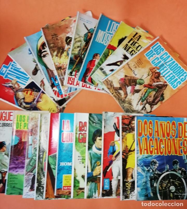 NOVELAS GRAFICAS PARA ADULTOS. 20 NUMEROS. EDICIONES TORAY AÑOS 60. (Tebeos y Comics - Toray - Otros)