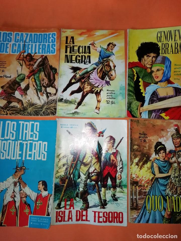 Tebeos: NOVELAS GRAFICAS PARA ADULTOS. 20 NUMEROS. EDICIONES TORAY AÑOS 60. - Foto 4 - 178684231