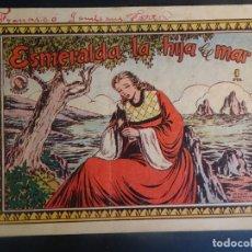Tebeos: ANTIGUO COMIC ESMERALDA LA HIJA DEL MAR , COLECCIÓN AZUCENA Nº 150, VER FOTOS. Lote 178686983