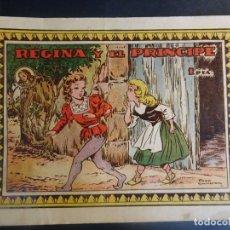Tebeos: ANTIGUO COMIC REGINA Y EL PRÍNCIPE , COLECCIÓN AZUCENA Nº 163, VER FOTOS. Lote 178687197