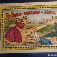 Tebeos: ANTIGUO COMIC EL BUEN CORAZÓN DE ALICIA , COLECCIÓN AZUCENA Nº 153, VER FOTOS. Lote 178688741