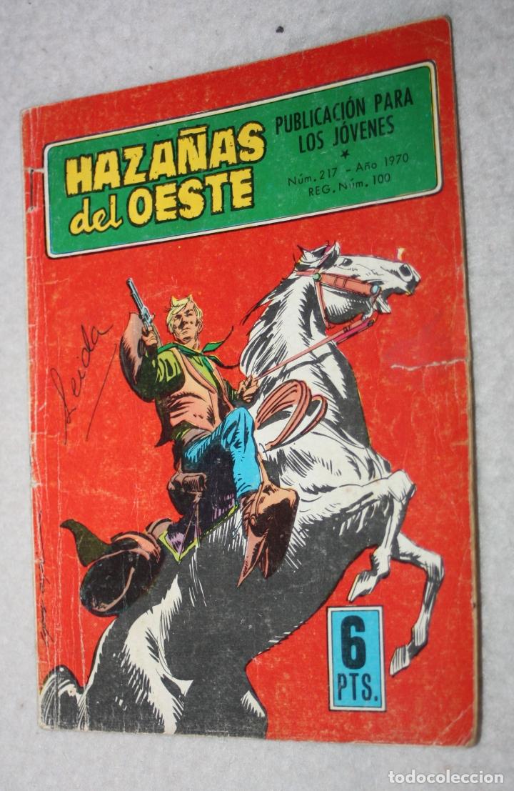 HAZAÑAS DEL OESTE Nº 217 (TORAY) (Tebeos y Comics - Toray - Hazañas del Oeste)