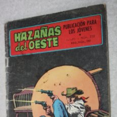 Tebeos: HAZAÑAS DEL OESTE Nº 232.(TORAY). Lote 178720416