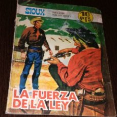 Tebeos: LA FUERZA DE LA LEY. SIOUX. NUMERO 106. . Lote 178748043