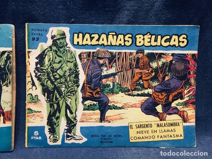 HAZAÑAS BÉLICAS EDICIONES TORAY LOTE 5 TEBEOS CÓMIMC EN BLANCO Y NEGRO 1961 (Tebeos y Comics - Toray - Hazañas Bélicas)