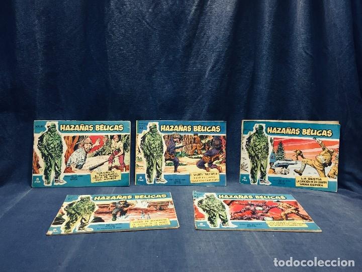 Tebeos: hazañas bélicas ediciones toray lote 5 tebeos cómimc en blanco y negro 1961 - Foto 3 - 178766626