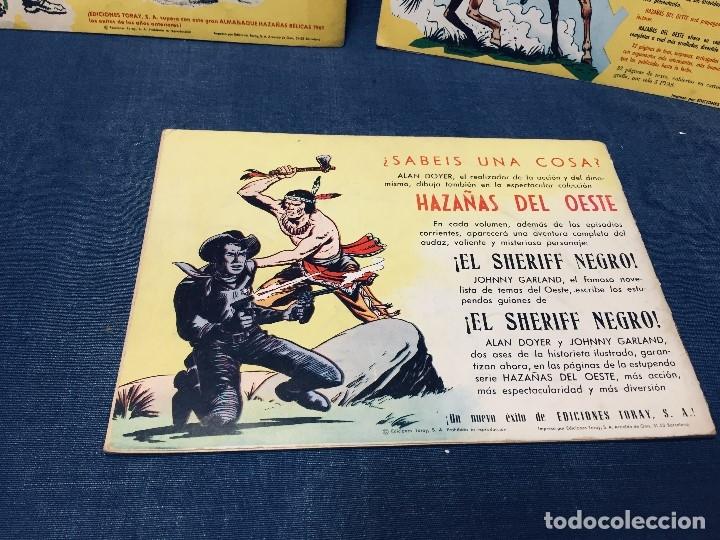 Tebeos: hazañas bélicas ediciones toray lote 5 tebeos cómimc en blanco y negro 1961 - Foto 6 - 178766626