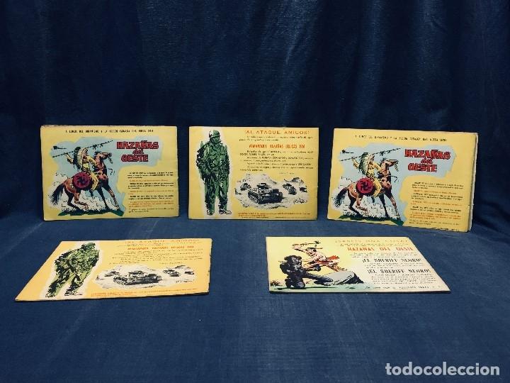 Tebeos: hazañas bélicas ediciones toray lote 5 tebeos cómimc en blanco y negro 1961 - Foto 10 - 178766626