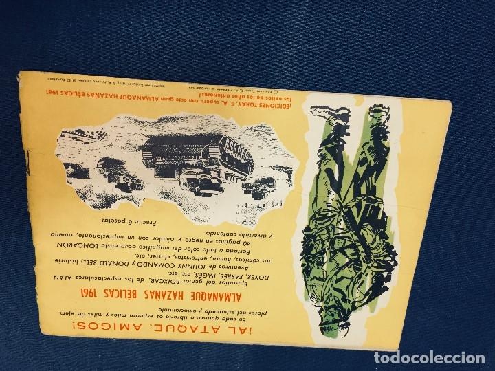 Tebeos: hazañas bélicas ediciones toray lote 5 tebeos cómimc en blanco y negro 1961 - Foto 11 - 178766626