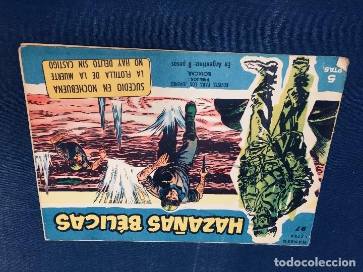 Tebeos: hazañas bélicas ediciones toray lote 5 tebeos cómimc en blanco y negro 1961 - Foto 12 - 178766626