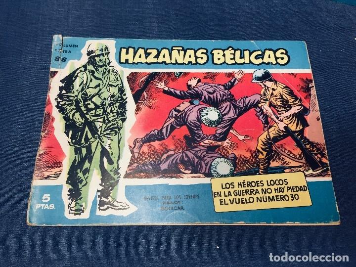 Tebeos: hazañas bélicas ediciones toray lote 5 tebeos cómimc en blanco y negro 1961 - Foto 17 - 178766626