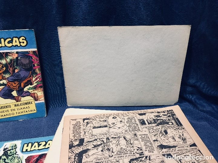 Tebeos: hazañas bélicas ediciones toray lote 5 tebeos cómimc en blanco y negro 1961 - Foto 19 - 178766626