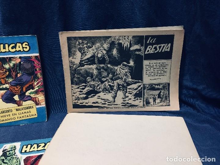 Tebeos: hazañas bélicas ediciones toray lote 5 tebeos cómimc en blanco y negro 1961 - Foto 20 - 178766626