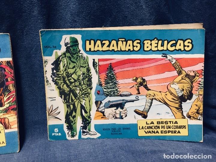 Tebeos: hazañas bélicas ediciones toray lote 5 tebeos cómimc en blanco y negro 1961 - Foto 21 - 178766626