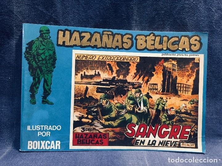 HAZAÑAS BÉLICAS VOLUMEN XXV SANGRE EN LA NIEVE ILUSTRACIONES BOIXCAR EDICIONES URSU S.A. (Tebeos y Comics - Toray - Hazañas Bélicas)