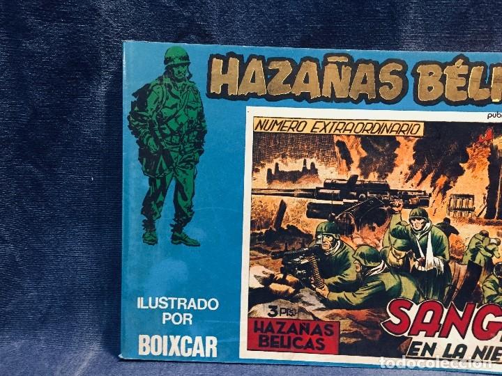Tebeos: HAZAÑAS BÉLICAS VOLUMEN XXV SANGRE EN LA NIEVE ilustraciones BOIXCAR EDICIONES URSU S.A. - Foto 3 - 178768818