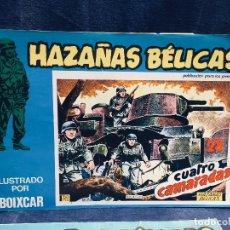 Tebeos: LOTE OCHO CÓMICS HAZAÑAS BÉLICAS ILUSTRADO BOIXCAR EDICIONES URSU S.A.. Lote 178777606