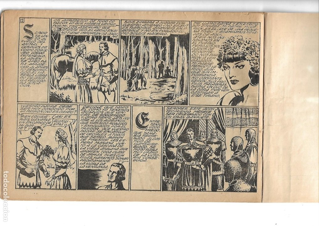 Tebeos: Flecha Negra Album Año 1950 Colección Completa son 8 Álbumes son Originales Dibujante Boixcar Toray. - Foto 3 - 73068555