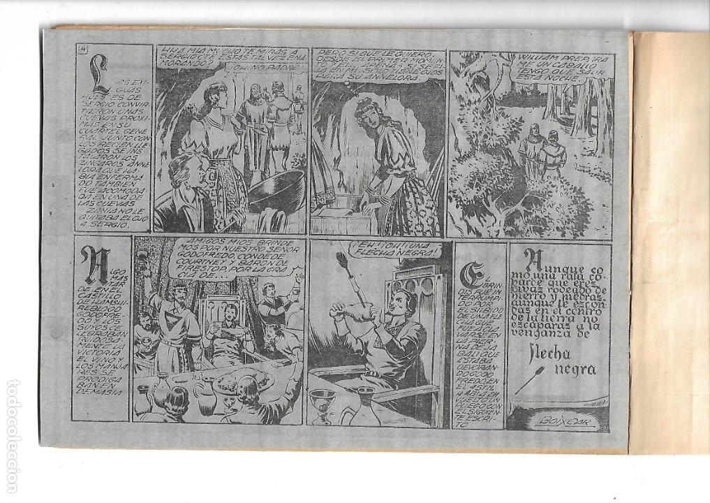 Tebeos: Flecha Negra Album Año 1950 Colección Completa son 8 Álbumes son Originales Dibujante Boixcar Toray. - Foto 5 - 73068555