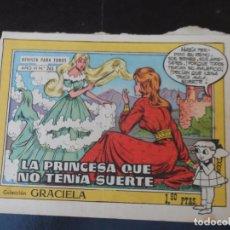 Tebeos: COLECCION GRACIELA AÑO VI. Nº 263 - EDICIONES TORAY 1958 . Lote 179017507
