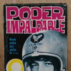 Tebeos: ESPIONAJE - Nº 6, PODER IMPARABLE - ED. TORAY. Lote 179146675