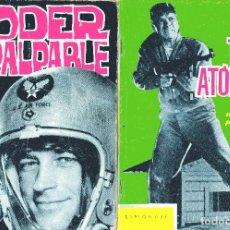 Tebeos: ESPIONAJE Nº6 + 14: TOPOS ATOMICOS+PODER IMPALPABLE - DIBUJOS PIZARRO ED.TORAY 1965. Lote 179341226