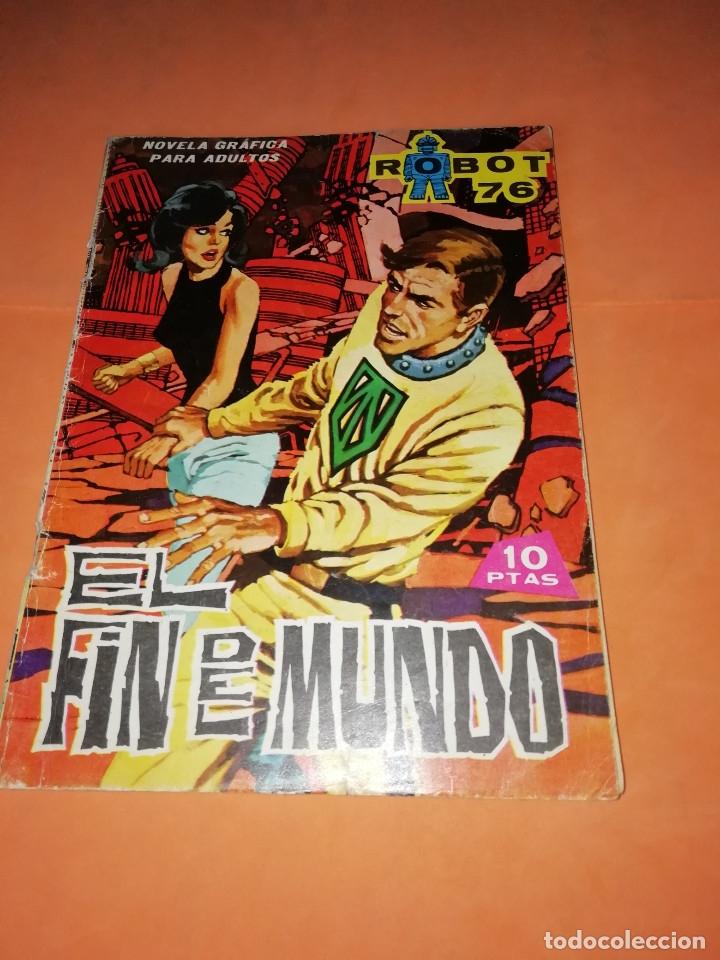 ROBOT 76 . EL FIN DEL MUNDO. 1967. TORAY. GRAPA. (Tebeos y Comics - Toray - Otros)