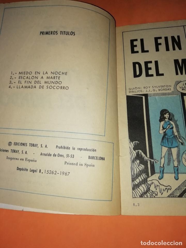 Tebeos: ROBOT 76 . EL FIN DEL MUNDO. 1967. TORAY. GRAPA. - Foto 4 - 180007797