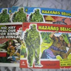 Tebeos: HAZAÑAS BELICAS. TORAY. LOTE 5 NUMS. Lote 180104185