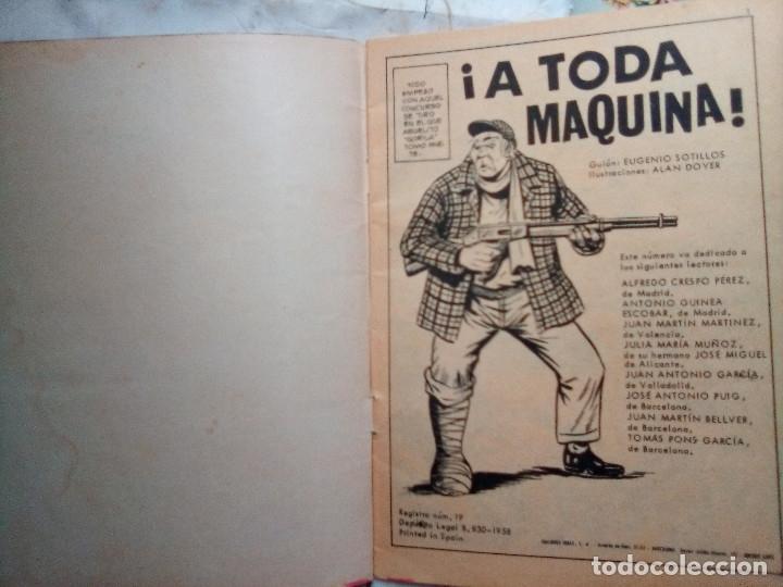 Tebeos: HAZAÑAS BÉLICAS- GORILA- Nº 273 -¡A TODA MÁQUINA!-GRAN ALAN DOYER-1969--DIFÍCIL-BUENO-LEAN-2053 - Foto 5 - 180159155