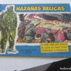 Tebeos: HAZAÑAS BELICAS EXTRA SERIE AZUL Nº 100 TORAY MUCHOS MAS EN VENTA MUY DIFICIL CX23. Lote 180163315