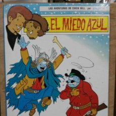 Tebeos: LAS AVENTURAS DE CHICK BILL POR TIBET - TOMO 1, EL MIEDO AZUL - ED. TORAY. Lote 180167563