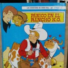 Tebeos: LAS AVENTURAS DE CHICK BILL POR TIBET - TOMO 2, PÁNICO EN EL RANCHO O.K. - ED. TORAY. Lote 180167646