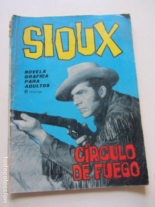 SIOUX- Nº 32 -CÍRCULO DE FUEGO EDICIONES TORAY 1965 CX23 (Tebeos y Comics - Toray - Sioux)
