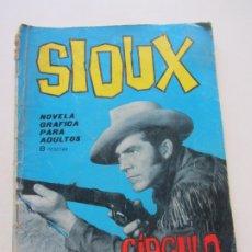 Tebeos: SIOUX- Nº 32 -CÍRCULO DE FUEGO EDICIONES TORAY 1965 CX23. Lote 180218347
